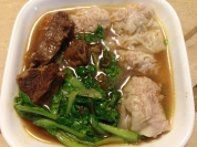 牛肉湯餛飩