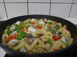 義式海鮮筆管麵