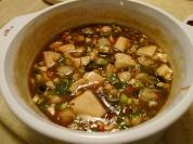 豆豉鮮蚵豆腐煲