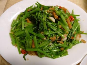 馬來蝦米辣炒空心菜