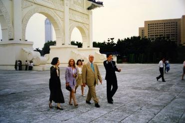 參觀中正紀念堂