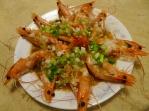 蠔油蒜蓉蝦
