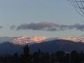 夕陽映照白雪皚皚的雪山; Mirador de San Nicolás 遠跳 Sierra Nevada