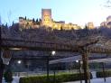 遠眺阿罕布拉皇宮(La Alhambra)