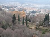 從風向標(La veleta)上眺望格拉那達