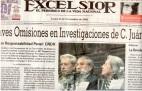 2003年國際筆會:墨西哥《至上報》(Excelsior)報導