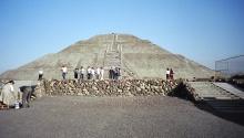 Teotihuacán 日月神殿