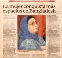 孟加拉女性爭職場空間