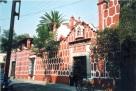 帕斯基金會外觀:Casa de Alvarado (大門深鎖,輕問人在否?)