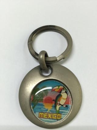墨西哥國寶鳥鵎鵼鑰匙圈