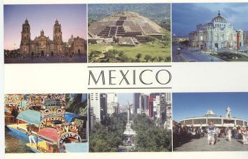 墨西哥景點卡片