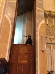 清真寺樓上講道理臺
