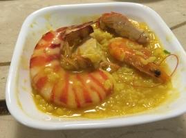明蝦螃蟹海鮮湯飯 (汁鮮美)
