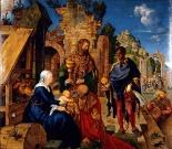杜勒 (Albrecht Dürer; 德)的三王朝聖