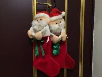 「年資」將近 20 年的聖誕老公公襪子,等待禮物