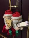 聖誕老公公下凡送禮物