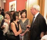 2011 年 6 月 17 日,尤薩夫婦在北京 (祕魯駐北京大使館)