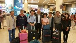抵達科威特機場