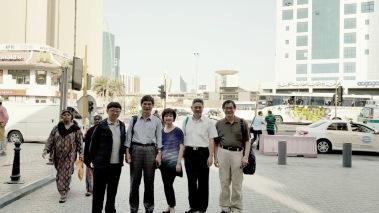 豔陽下,科威特市景一瞥