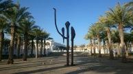 KAUST 校園一景 (駱駝雕塑)