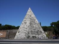 羅馬「新教徒墓園」入口處