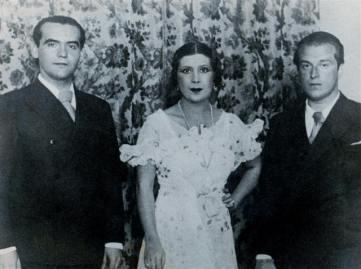 羅卡(左一)& La Argentinita