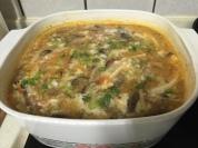 一大鍋的酸辣湯
