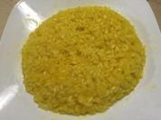 陽春純色的米蘭燉飯