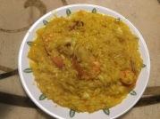 加海鮮的仿米蘭燉飯