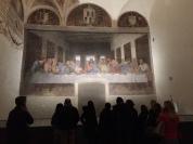 恩典聖母教堂:《最後的晚餐》壁畫真跡