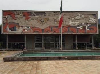 蒙特雷理工大學正門「文化的勝利」壁畫