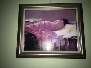 家裡收藏梁君午的畫