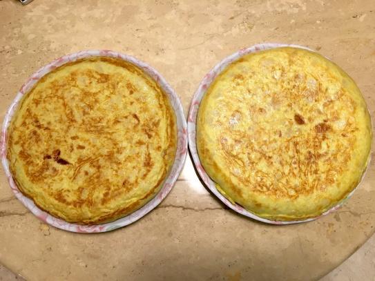 區區兩個,也要1.5 小時耐心 (10 個馬鈴薯、16 顆蛋,2 個洋蔥)