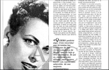 寫給第三位情人 Natalia Revuelta