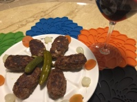 我的土耳其牛肉丸-köfte