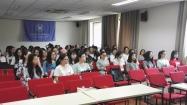 在大陸:狀元念西語。南京大學西語系同學
