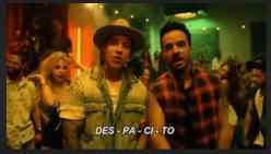 Des-pa-ci-to 四音節節奏