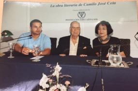 1998 年 7 月 18 日塞拉基金會與塞拉合影