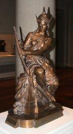 亞馬遜女戰士雕塑(1860): Pierre-Eugène-Emile Hébert (1823-1893) 法國雕塑家