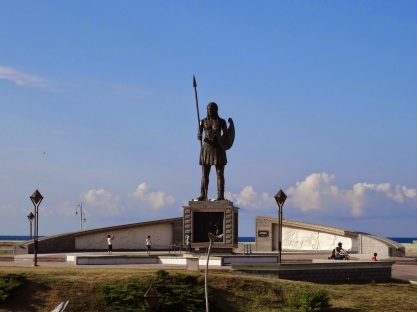 土耳其特兒美薩姆松省得巴蒂國家公園亞馬遜女戰士雕像