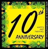 005.國際處 10 週年 logo