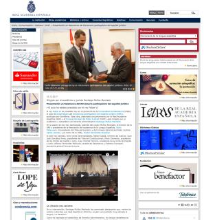 皇家學院(RAE)網頁