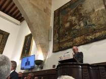 皇家學院現任秘書長,泛西法學辭典召集人, Santiago Muñoz Machado 院士