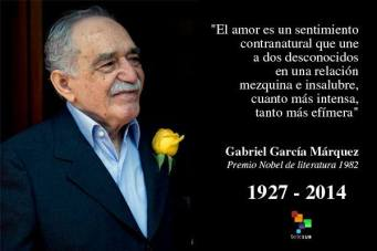 Gabriel García Márquez (賈西亞.馬奎斯; 1927-2014)