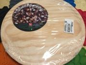 直徑 16 cm 的小 size 木製盤