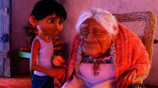 米高(Miguel)和曾祖母可可(Mamá Coco)