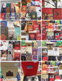 搭配世界書香日展出中書西譯作品
