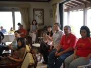 2010 在薩爾瓦多廖世傑大使職務宿舍看世足冠軍賽