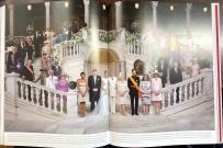 摩納哥 Albert II 婚禮也用馬卡龍(photo: Bodas Reales-HOLA-Lunwerg)