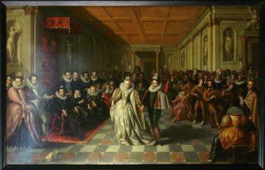 Anne Joyeuse 伯爵的婚禮,用馬卡龍宴客